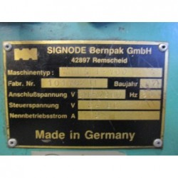 STRAPPING MACHINE SIGNODE 1997